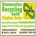 Sponsor_simmerath recycling