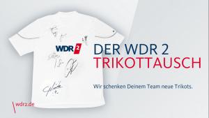 Trikottausch WDR